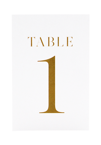Alexia Table Number