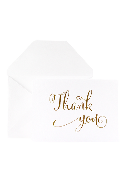 Alexia Thank You Card