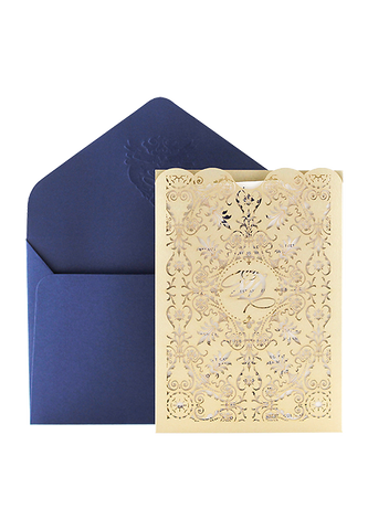 Whisper Pocket Invitation - Royal Edition