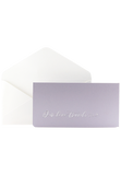 Boarding Pass Invitation - Our love travels - Lilac
