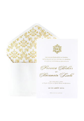 Downton Abbey Invitation