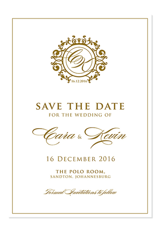 La Vie Digital Save The Date