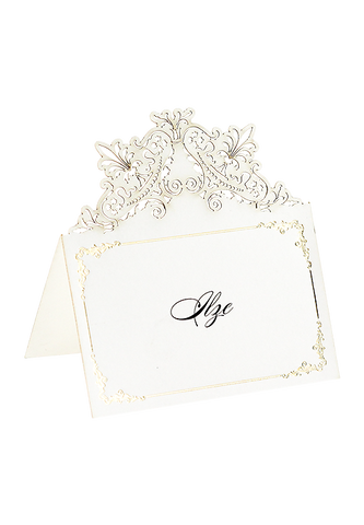 French Opulence Royal Edition Place Card