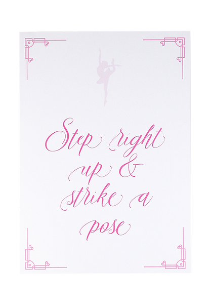 Ballet Shoes Photo Booth Sign