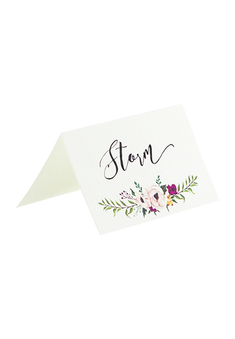 Aquarelle Place Card