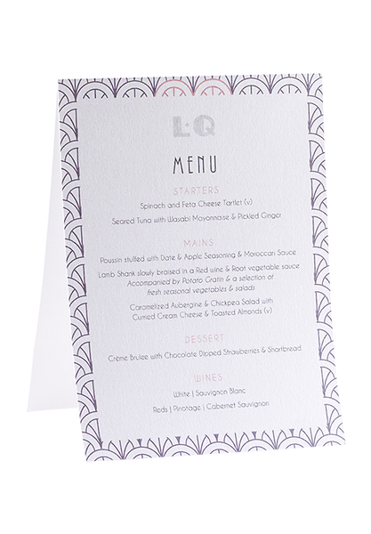 Broadyway Menu