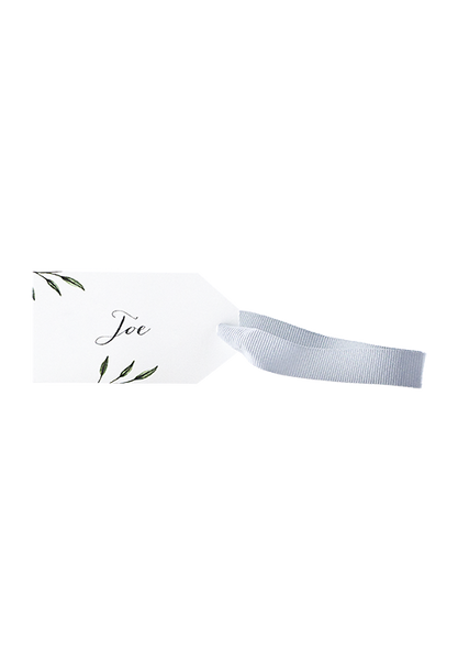 Bamboo Place Card