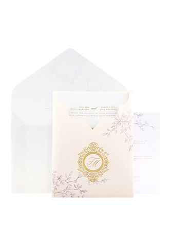 Flora Pocket Invitation
