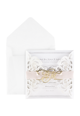 Wren Whimsy Invitation - Blush Edition