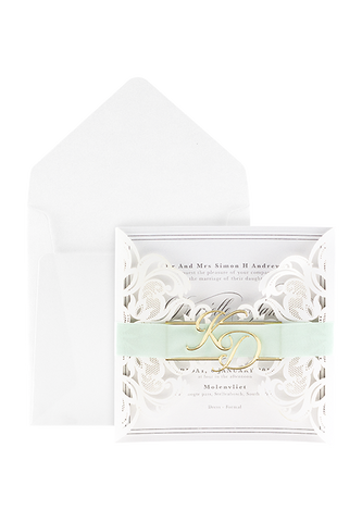 Wren Whimsy Invitation - Mint Edition
