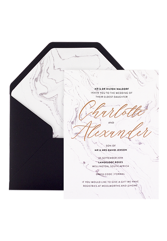 Apollo Invitation - Foiled