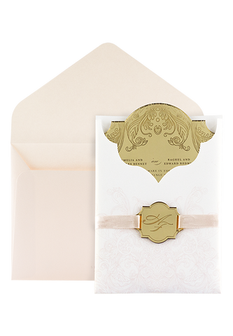 Eros Invitation - Perspex Blush Edition