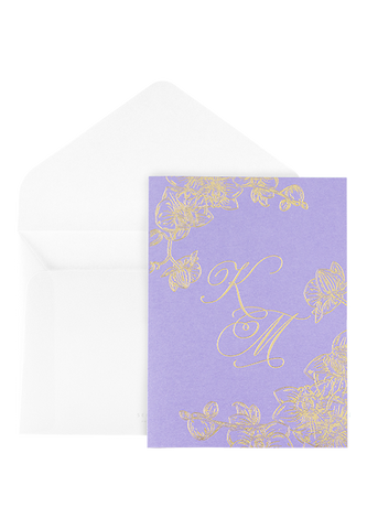Orchid Bay Invitation - Amethyst Edition