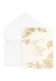 Orchid Bay Invitation - Cream Edition