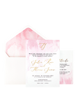 A Watercolour Wish Invitation