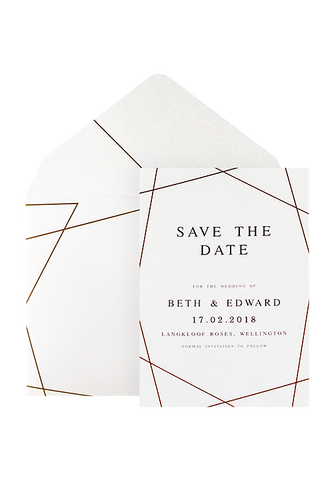 Geometry of Love Save The Date