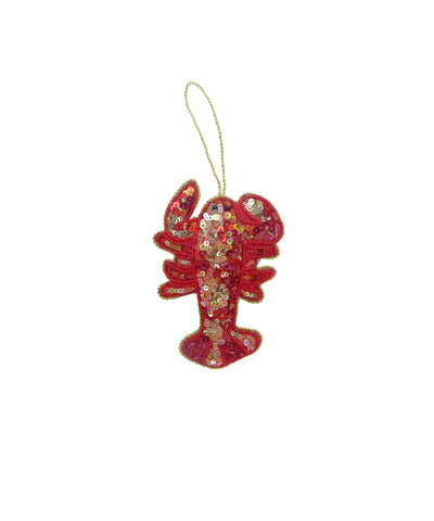 Lucky lobster ornament