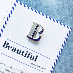 'Beautiful' pin