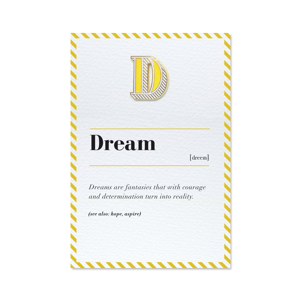'Dream' pin