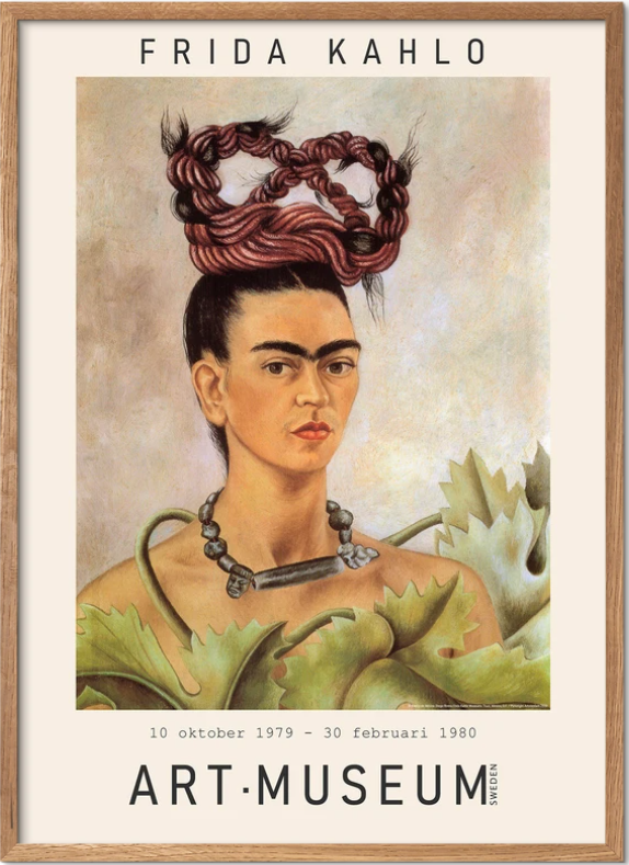 Frida Kahlo - museums print 01