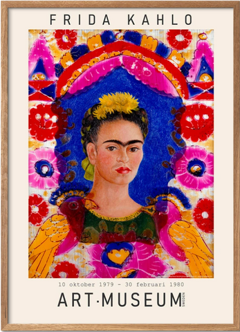 Frida Kahlo - museums print 02