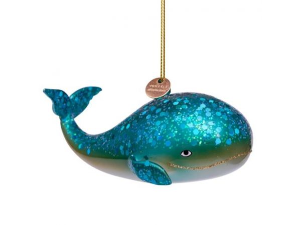 Blue whale - ornament