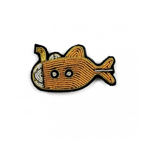 Submarine broche