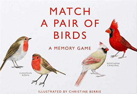 Vendespil - Match a pair of Birds