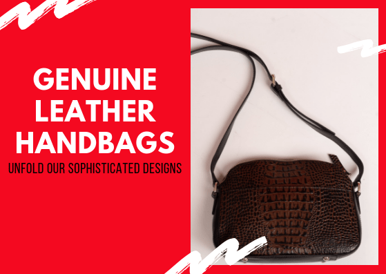 A Bag of Awesomeness - Genuine Leather Handbags For You