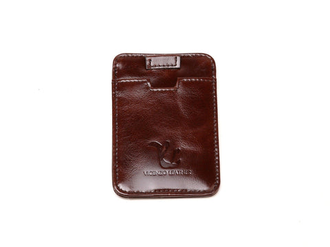 Dakota Credit Card Holder-Brown