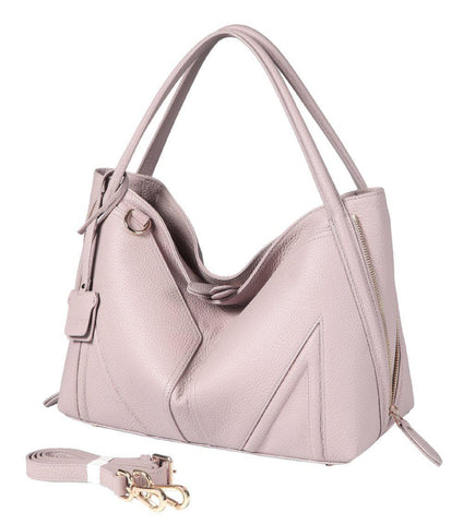 Elle Leather Hobo Handbags - Vicenzo Leather - Designer