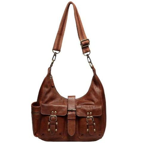 Lori Leather Multifuntional Crossbody Handbag