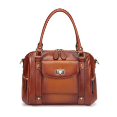 Liliana Leather Handbag Handbags - Vicenzo Leather - Designer