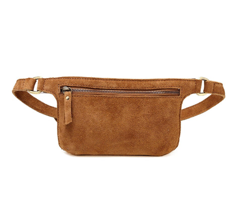 Karla Suede Leather Waistbag