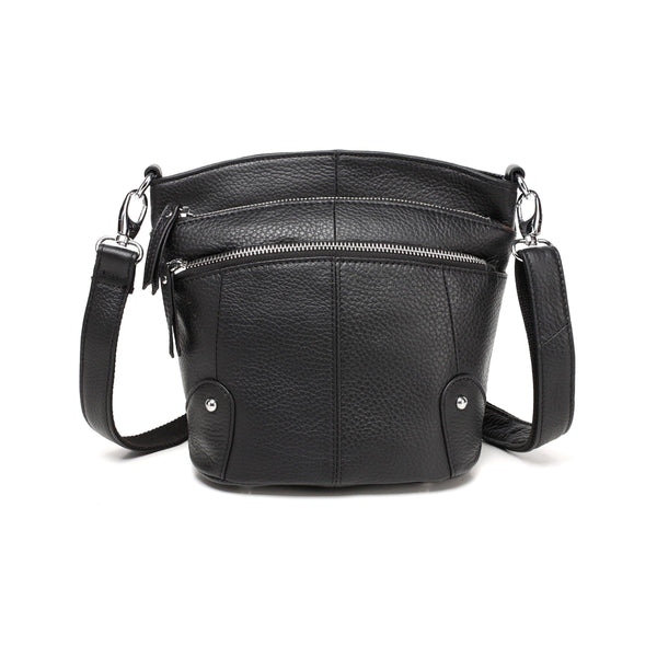 Cassie Leather Crossbody Handbag
