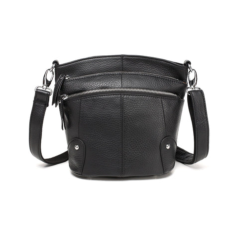 Cassie Leather Crossbody Handbag Handbags - Vicenzo Leather - Designer