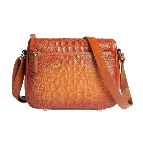 Sonaa Leather Crossbody Handbag crossbody bag - Vicenzo Leather - Designer