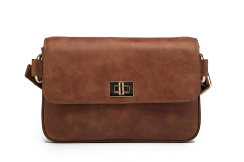 Zelie Leather Waistbag/Crossbody Bag