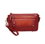 Dara Textured Leather Crossbody Bag
