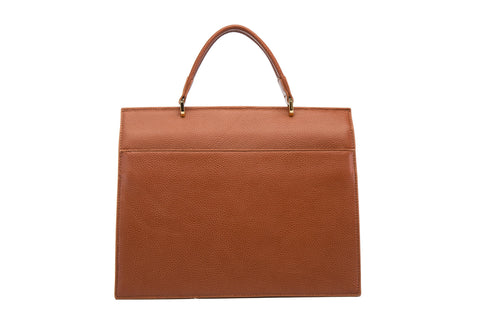 Greta Satchel Leather Handbag Handbags - Vicenzo Leather - Designer