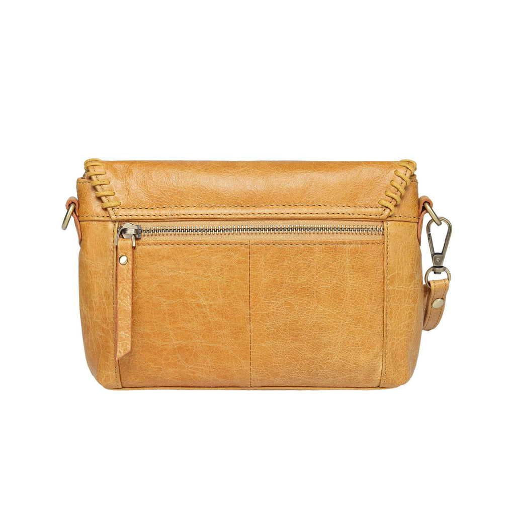 Eloise Distressed Leather Crossbody/Clutch Handbags - Vicenzo Leather - Designer