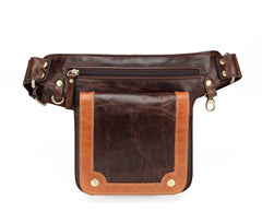 Deimos Leather Waist Bag Fanny Pack