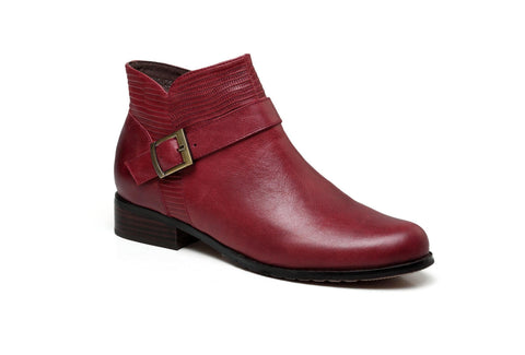 Florence Flat Heel Women Leather Boots