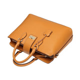 Nicole Top Handle Leather Handbag Handbags - Vicenzo Leather - Designer
