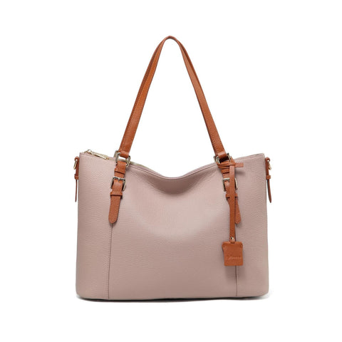 Love Leather Tote Handbag Handbags - Vicenzo Leather - Designer