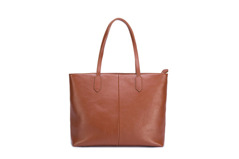 Allie Leather Shoulder Handbag Handbags - Vicenzo Leather - Designer