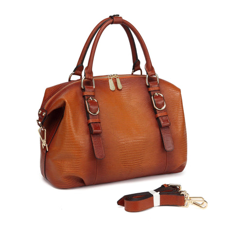 Eternity Leather Satchel Handbag Handbags - Vicenzo Leather - Designer