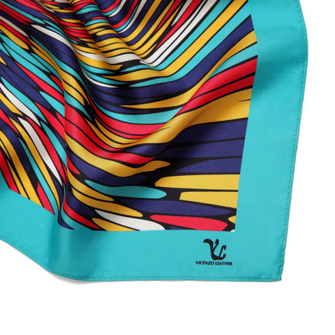 Vicenzo Leather Agape Silk Scarf