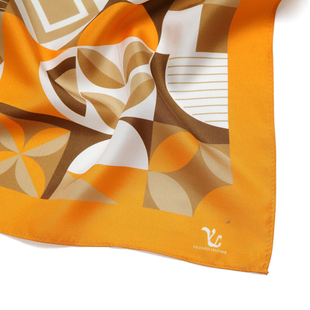 Vicenzo Leather Angel Silk Scarf Scarves - Vicenzo Leather - Designer
