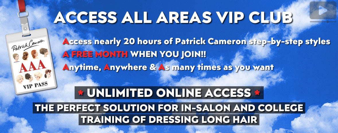 Access All Areas - Patrick Cameron VIP Club